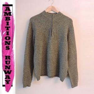 ExOfficio Men Pullover 1/4 zip Knit Sweater